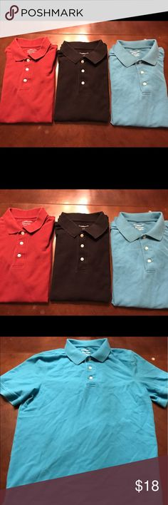 Bundle of 3 Men Croft & Barrow Polo Shirts In great condition. All size small. Worn a few times. 3 for the price of one. Thanks! croft & barrow Shirts Polos