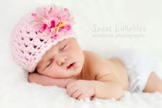 Baby Girl Flower Hat, Newborn Girl Coming Home Hat, Infant Girl Photo Prop, Pink Baby Hat with Flower, Baby Girl Clothes, Girl Baby Beanie by Monarchdancer on Etsy https://www.etsy.com/listing/188420502/baby-girl-flower-hat-newborn-girl-coming