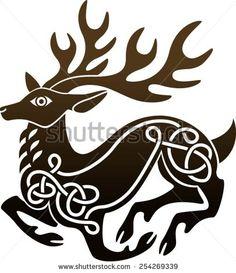 Red Deer Stock Vectors & Vector Clip Art | Shutterstock
