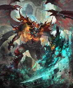 Dragon King type 2 by antilous on DeviantArt