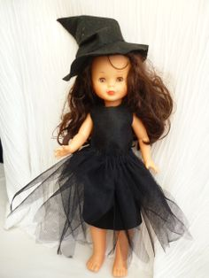little witch outfit for nancy: pattern