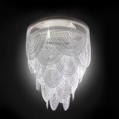 Ceremony Chandelier Light by Slamp #modern #lighting #chandelier