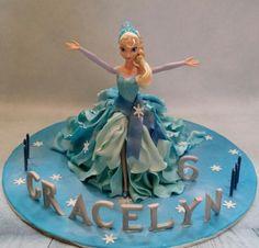 Elsa 3D Doll Cake - Cake by cjyummy