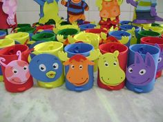 backyardigans+craft+|+Adriana+Lembrancinhas:+Backyardigans!