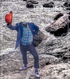 ::: Luke N. Sharp ::: Look at Luke exploring the Red River by Downtown Fargo! He is doing it in style of course with his Hart Shaffner Marx Sport Coat Bailey Hat BLU by Polifroni shirt Citizens of Humanity pants and Johnston & Murphy sneakers! > #lukensharp #hartschaffnermarx #luxurious #menswear #mensfashion #contemporaryfashion #classicfashion #halberstadtsnd // #redriver #fargo #ilovefargo #downtownfargo #westfargo #ndledgendary #moorhead #midwest #america <