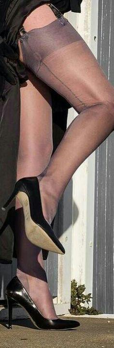 heels nylon de männerakte fotografie