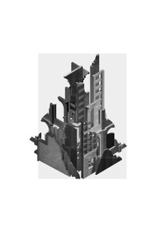 MEMORY PALACE – S//A Isometric Drawing, Chimera, Palace, Architecture Design, Memories, Architectural Drawings, Uni, Illustration, Modern