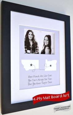 Gifts For Best Friends ANY Custom Designed Art Color by Picmats, $30.00
