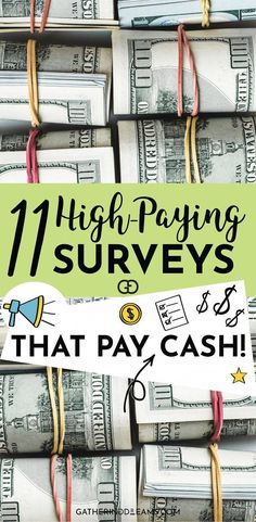 I love online surveys, especially when I get paid cash! This is a great list of the best survey sites for money. I tried them all and they all pay cash! Online surveys for money are a great way for anyone to make money online! - Earn Money at home Make Money Taking Surveys, Surveys That Pay Cash, Best Money Making Apps, Online Surveys For Money, Online Jobs From Home, Work From Home Jobs, Earn Money Online, Make Money From Home, Way To Make Money