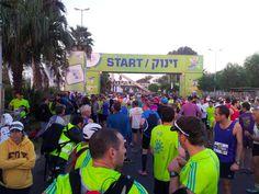 Tel-Aviv Marathon 2014 - START