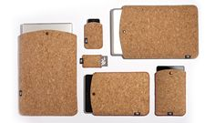 Cork Laptop Sleeve, Cases For PC, iPad, iPhones, iPod, Blackberry & Cameras, by TAPE   Ryan Frank