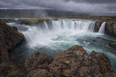 Cascada Goðafoss #Islandia