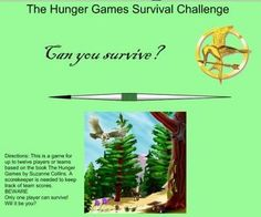 The Hunger Games Smartboard Game Survival Challenge will engage your students!  FUN! INTERACTIVE! 12 Different activities! Hunger Games Direction...