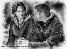 Talk by ~AmberJoe on deviantART (Dean Winchester / Sam Winchester, Wincest, Jensen Ackles, Jared Padalecki, Supernatural Fanart)