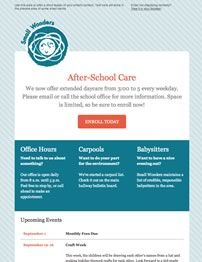 Mail Template Email Templates Pinterest Newsletter Ideas - Code your own mailchimp template