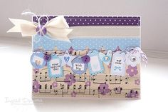 cute little labels on card