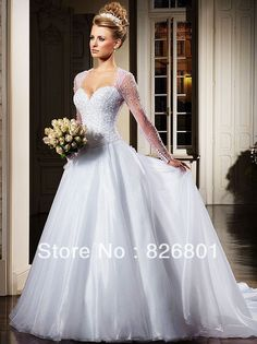 This might be the one 😁👰 Wholesale - Covered Botton Bling 2014 Sheer Sequin Wedding Dresses Sexy Backless Cheap Vintage Tulle Dress Bridal Ball Gowns Long Sleeve Train Sheer Wedding Dress, Sequin Wedding, Amazing Wedding Dress, Wedding Dresses 2014, Sweetheart Wedding Dress, Bridal Dresses, Wedding Gowns, Prom Dresses, Evening Dresses