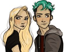 Teddy and Victoire by lilabeanz
