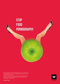 Stop Food Pornography on Behance