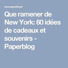 Que ramener de New York: 60 idées de cadeaux et souvenirs - Paperblog