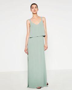 Imagem 1 de VESTIDO COM CORPO E CAPA da Zara