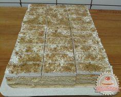 Diókrémes szelet Poppy Cake, Hungarian Recipes, Izu, I Want To Eat, Delicious Desserts, Deserts, Goodies, Sweets, Bread