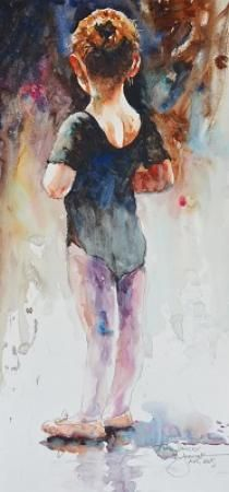 7 Tried-and-True Tips for Painting Loose in Watercolor from artist Bev Jozwiak Ballerina Painting, Ballerina Art, Ballet Art, Ballerina Photography, Little Ballerina, Ballet Dance, Art Watercolor, Watercolor Portraits, Watercolor Landscape