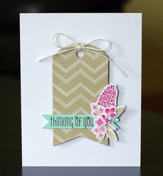 to the full: Summer Card Camp 2 tag card WPlus9 Fresh Cut Florals