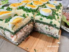 Polish Recipes, Meat Recipes, Appetizer Recipes, Cooking Recipes, Sandwich Cake, Easter Brunch, Appetisers, Tapas, Food To Make