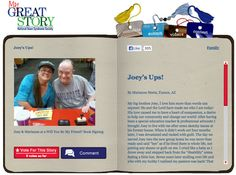 Check out the August 2013 My Great Story of the Month Contest winner, Joey's Ups by Marianne Marts, Tucson, AZ! Share your story at ndss.org/stories!