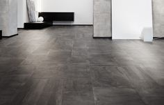 Claystone Anthracite Porcelain tile by Hardwood Floors, Flooring, Concrete Tiles, Porcelain Tile, Tile Floor, Modern, Color, Design, Wood Floor Tiles