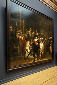 De Nachtwacht, or The Nightwatch by Rembrandt in the Rijksmuseum - Amsterdam, The Netherlands Kingdom Of The Netherlands, I Amsterdam, Dutch Painters, Belle Photo, Art And Architecture, Van Gogh, Art History, Art Museum, Art Gallery