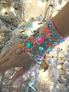 trinkets-treasures-n-treats:    (via Pretty Stuff / Monsoon Gypsy Jangle bracelet by AllThingsPretty, via Flickr)