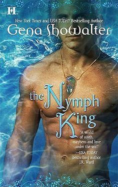 The Nymph King by Gena Showalter (Book 3 in the Atlantis series, but it's the first book I read of hers and I fell in love with the series.)