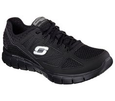 Skechers Mens SkechFlex Life Force Sneaker Black Size 105 >>> Find out more about the great product at the image link.