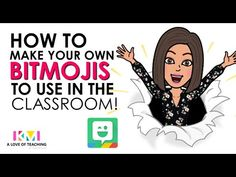 """This brings so much fun and personality into your classroom. I think this could be a fun """"first day"""" activity for my students. I would like to make some bitmoji posters of me and then have them make some, and I could put them around my classroom! School Classroom, Classroom Activities, Google Classroom, Classroom Ideas, Teaching Technology, Medical Technology, Teaching Music, Technology Gadgets, T 4"""