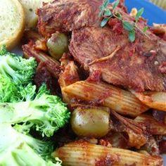 Slow Cooker Balsamic Chicken - Allrecipes.com  1/3 cup balsamic vinegar 2 - 3 chopped carrots