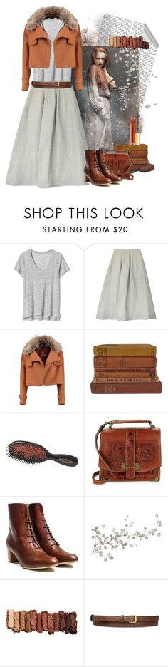 """""""What?"""" by crisp ❤ liked on Polyvore featuring Gap, Samuji, Vintage Collection, Mason Pearson, Patricia Nash, RoomMates Decor, Urban Decay and STELLA McCARTNEY"""