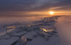 Natural ice and snow formation