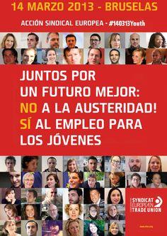 14 de marzo de 2013   Jornada de Acción Sindical Europea