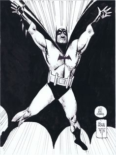 Batman by Alex Toth from Phil Hester's collection