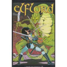ELFLORD #5   $2.40   1986   VOLUME 1   AIRCEL   COMIC BOOK