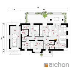 Dom w leszczynowcach 5 Floor Plans, Diagram