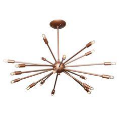 1stdibs - Sputnik Chandelier circa 1950's explore items from 1,700  global dealers at 1stdibs.com