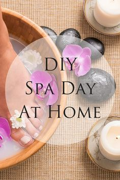 If you don't have a full day to spend at the spa, here are some simple things you can do to create a DIY spa at home.