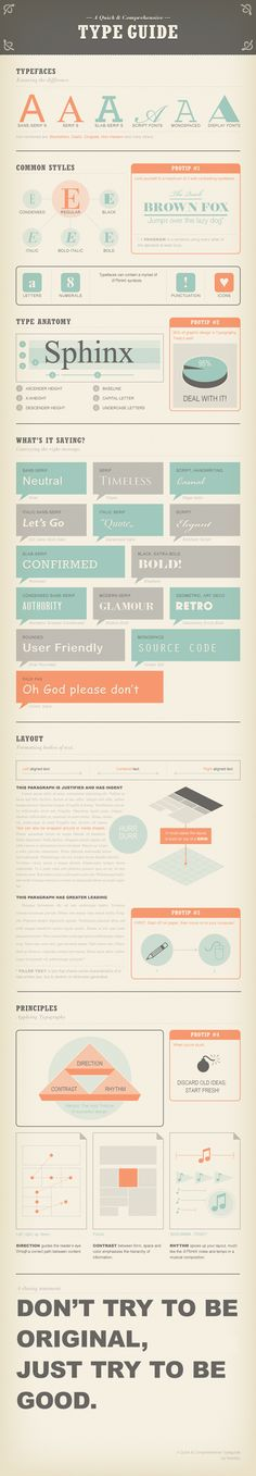 Some simple but important reminders for typography, on the web or elsewhere. #typography