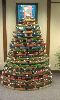 The BSC Library is a happening place! Check out the annual used book sale (now through December view the Student Art Exhibition (opening reception on Wednesday, November p.), and check out the Library's Book Tree! Book Christmas Tree, Book Tree, Christmas Time, Pretty Baby, Library Books, Used Books, Reception, Holiday Decor, Trees