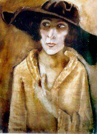 Otto Dix - Frau Doktor Hans Koch (1921)