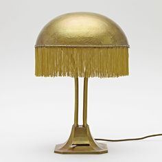 Adolf Loos: Table lamp from the Turnowsky residence, ca. 1900. Hummel collection, Vienna.