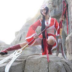 League of Legends Blood Moon Akali Cosplay Costume